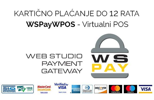 Online plačanje putem sustava WSPay